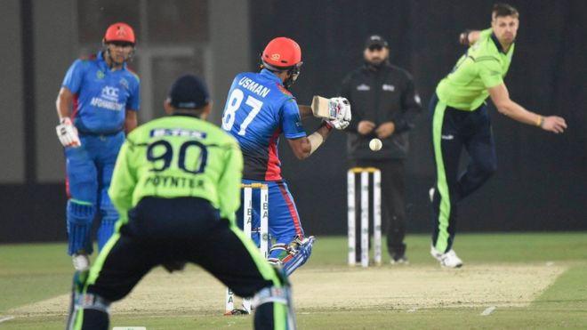 تصویر از افغانستان با شکست ایرلند رکورد جدیدی را در مسابقات جهانی کریکت ثبت کرد