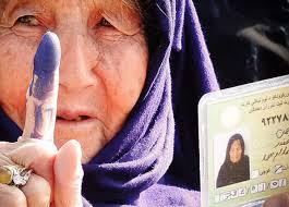 تصویر از مانع های دموکراسی وانتخابات شفاف درافغانستان