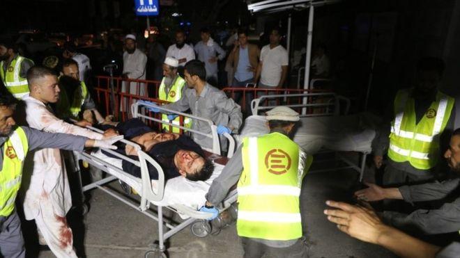 تصویر از انفجار در مراسم عروسی در کابل دستکم ۶۳ کشته و ۱۸۲ زخمی برجا گذاشت
