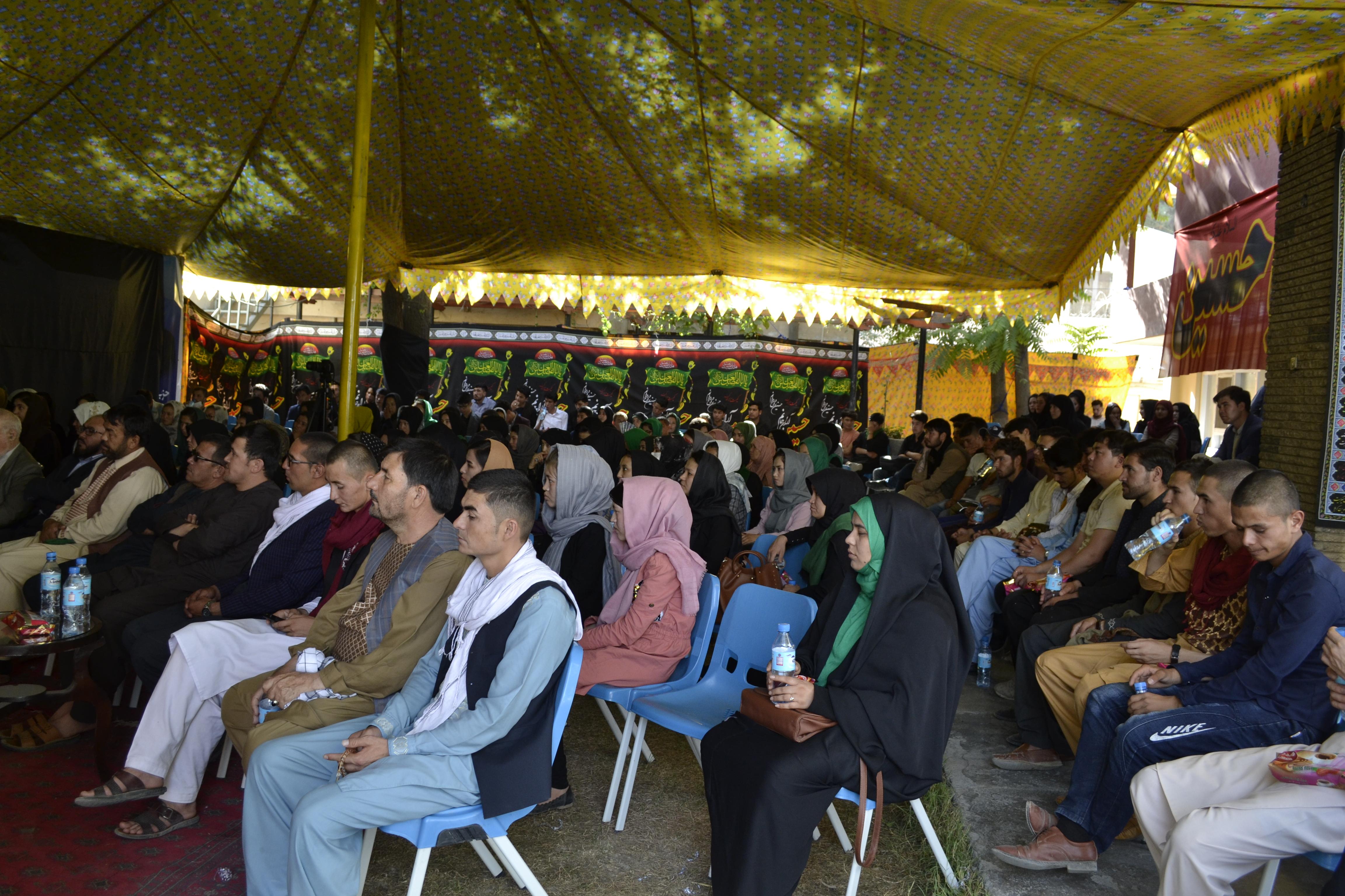تصویر از برنامه بزرگ ریاست جوانان حزب حرکت اسلامی متحد افغانستان