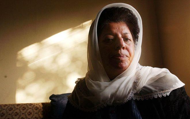 تصویر از ثریا پرلیکا فعال حقوق زن افغان درگذشت