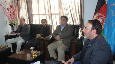 تصویر از جلسه هیئت رهبری با حضور داشت شخصیت های متنفذ حرکت اسلامی در دفتر حزب حرکت اسلامی متحد افغانستان برگزار گردید.