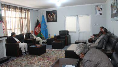 تصویر از برگذاری جلسه هیأت اجرایی حزب حرکت اسلامی متحد افغانستان