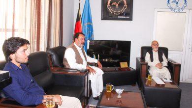 تصویر از جلسه هیأت اجرایی حزب حرکت اسلامی متحد افغانستان برگذار گردید.