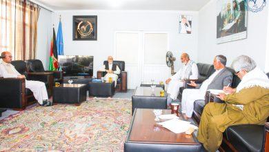 تصویر از هیأت اجرایی حزب حرکت اسلامی متحد افغانستان تشکیل جلسه داد