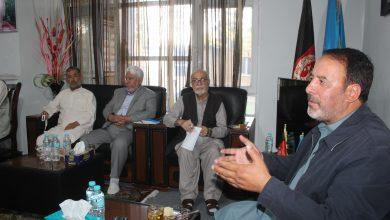 تصویر از برگذاری جلسه شورای رهبری حزب حرکت اسلامی متحد افغانستان.