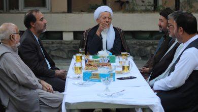 تصویر از جلسه احزاب همسو در دفتر مرکزی حزب حرکت اسلامی متحد افغانستان برگزار گردید.
