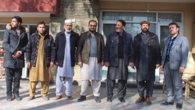 تصویر از محترم استاد ابوالحسین یاسر رئیس حزب حرکت اسلامی متحد افغانستان، در دیدار با رئیس، مسئولین و هواداران آن حزب فرمودند: