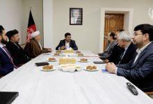 تصویر از دیدار روئسای احزاب همسؤ با رئیس عمومی اداره امور ریاست جمهوری اسلامی افغانستان