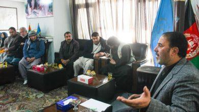 تصویر از جلسه فوق العاده شورای ولایتی کابل با جمعی از مسئولین و نهاد های مرتبط به حزب حاما