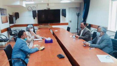 تصویر از دیدار استاد ابوالحسین یاسر با معاون امور صلح دفتر یوناما-کابل