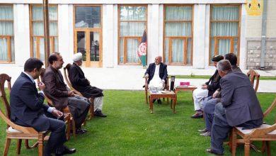 تصویر از دیدار استاد ابوالحسین یاسر و روئسای احزاب همسو با رئیس جمهور دولت اسلامی افغانستان